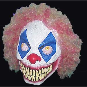 Clown Mask w/Hair