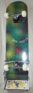 """Web Surfer"" Skateboard"